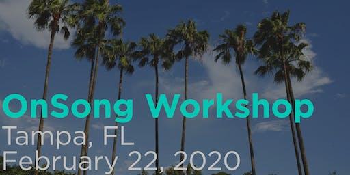 OnSong Training Workshop- Tampa, Florida