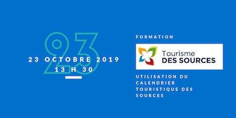 """Formation """"Calendrier touristique et culturel de la MRC des Sources"""" tickets"""