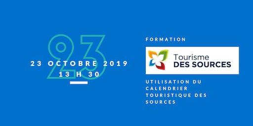 """Formation """"Calendrier touristique et culturel de la MRC des Sources"""""""
