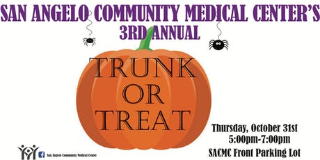 SACMC Trunk or Treat tickets