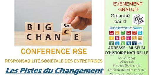 Conférence RSE les pistes du changement