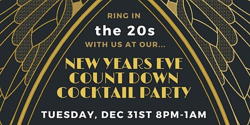 "New Years Eve Bring in the ""20s"" with Us"