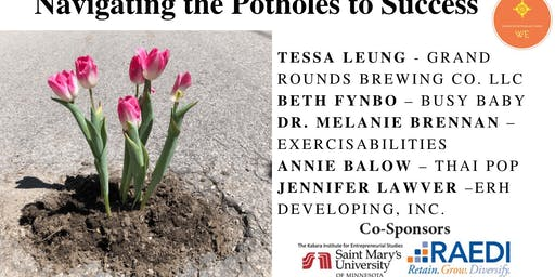 WE Panel: Navigating the Potholes to Success