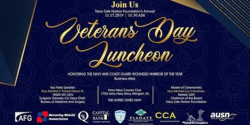 NSHF Annual Veterans Day Luncheon 2019