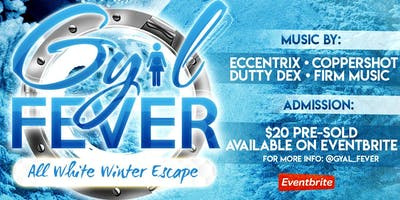 Gyal Fever All white winter escape