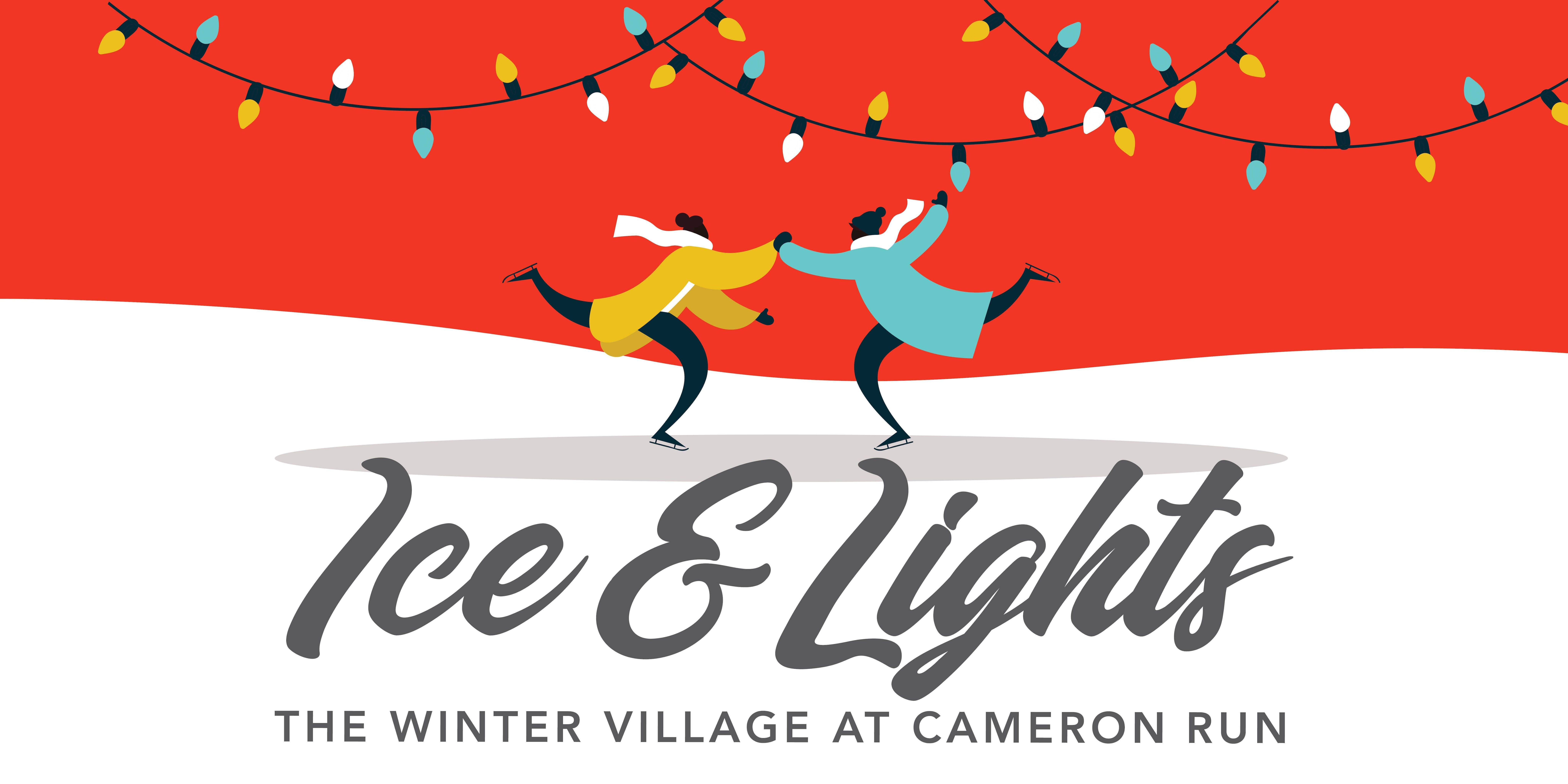 Ice & Lights: The Winter Village at Cameron Run