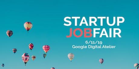 Startup Jobfair // November 2019 billets