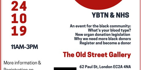 YBTN & NHS: Give Back Give Blood tickets