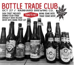 Bottle Trade Club @ Rainhard Brewing Co. tickets