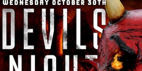 Devil's Night @barCode tickets