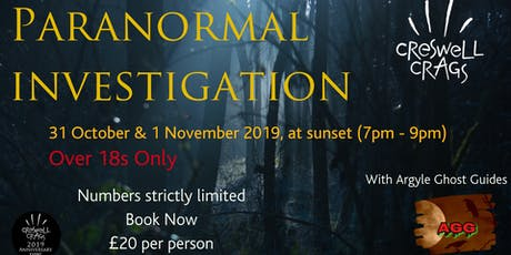 Paranormal Investigation at Creswell Crags tickets