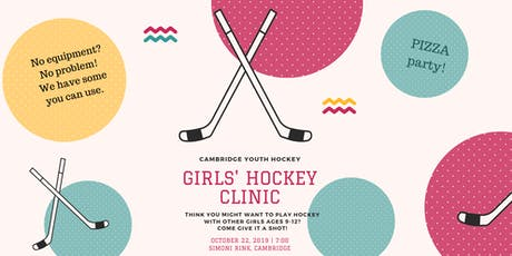 Girls' Hockey Clinic and Pizza Night! tickets