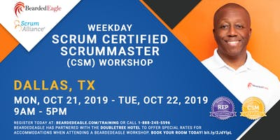 Certified ScrumMaster – DFW