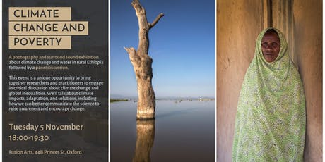 Climate Change and Poverty: Immersive photo-sound exhibition and panel tickets