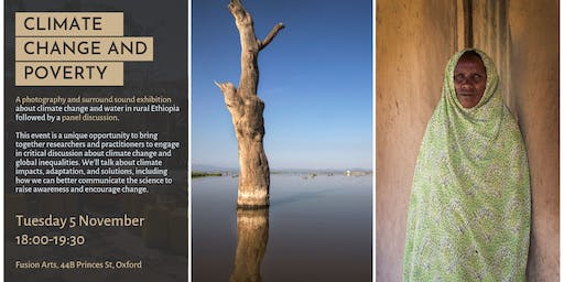 Climate Change and Poverty: Immersive photo-sound exhibition and panel