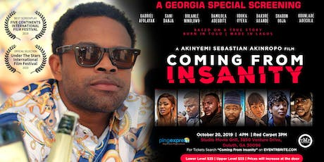 Coming From Insanity - Georgia Special Screening tickets