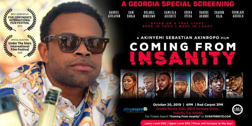 Coming From Insanity - Georgia Special Screening