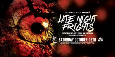 Late Night Frights - Halloween with Framework Music tickets