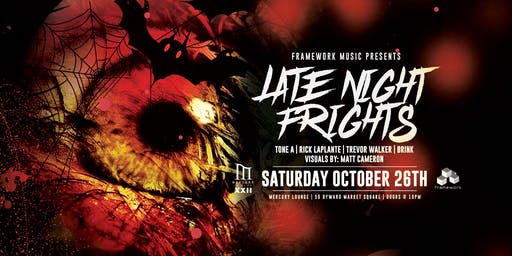Late Night Frights - Halloween with Framework Music