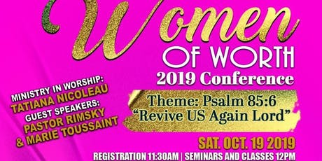 Women of Worth Conference tickets