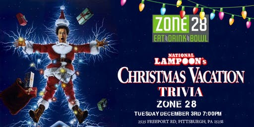 National Lampoon's Christmas Vacation Trivia at Zone 28