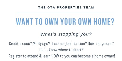 Want to own your own home?