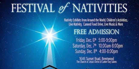 Festival of Nativities  tickets