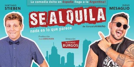 SE ALQUILA tickets