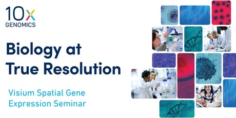 10x Genomics Visium Seminar - IGBMC  billets
