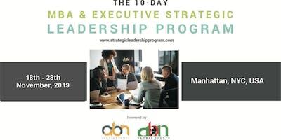 10-Day MBA & Executive Strategic Leadership Program