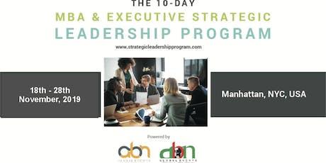 10-Day MBA & Executive Strategic Leadership Program tickets