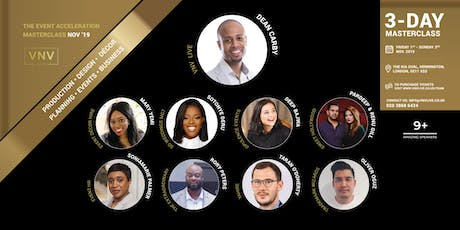 The Event Acceleration Masterclass 2019 tickets