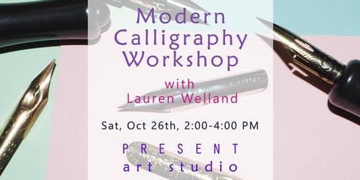 Modern Calligraphy Workshop for Beginners in Vancouver with Lauren Welland