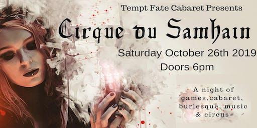 Tempt Fate Cabaret Presents: Cirque du Samhain