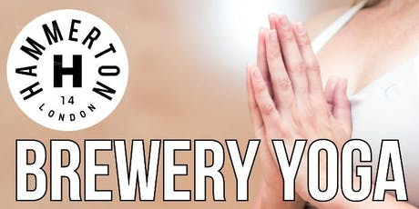Saturday Morning Yoga at the Hammerton Brewery Taproom tickets