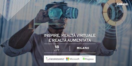 Inspire, Realtà Virtuale e Realtà Aumentata insieme a Microsoft e IAMCP biglietti