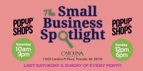 Small Business Spotlight: Pop-Up Shop tickets