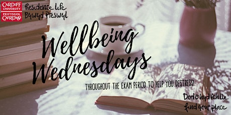 South Campus Wellbeing Wednesdays tickets