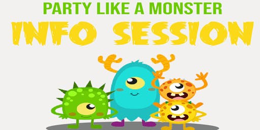 Early Autism Info Session- Party Like a Monster