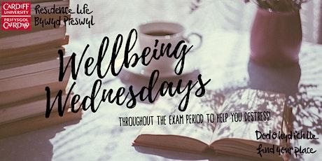 Uni Hall Wellbeing Wednesdays tickets