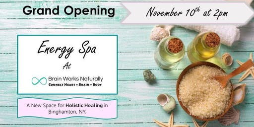 Grand Opening Celebration of our new Energy Spa