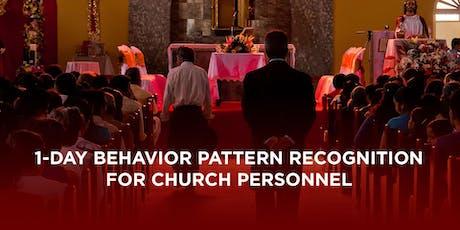 Behavior Pattern Recognition (1 Day) - Missoula, MT tickets