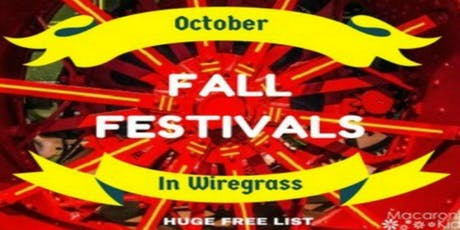 Find Your Family Fun in the Wiregrass Area - FREE Calendar tickets