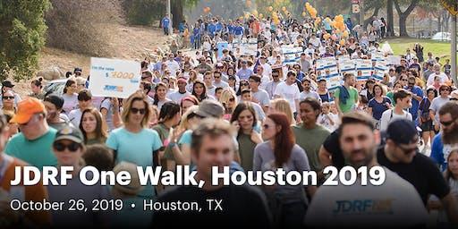 JDRF One Walk, Houston 2019