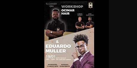 Workshop Ocimar Hair & Eduardo Muller ingressos