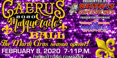 Hattiesburg's Caerus Mardi Gras Ball 2020 tickets