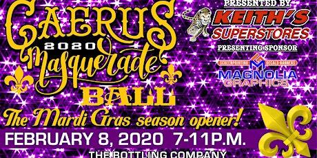 Hattiesburg's Caerus Mardi Gras Ball 2020 tickets