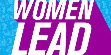 Women LEAD Social tickets