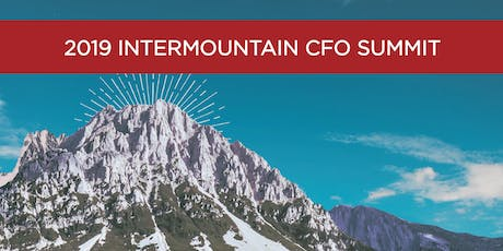 2019 Intermountain CFO Summit tickets