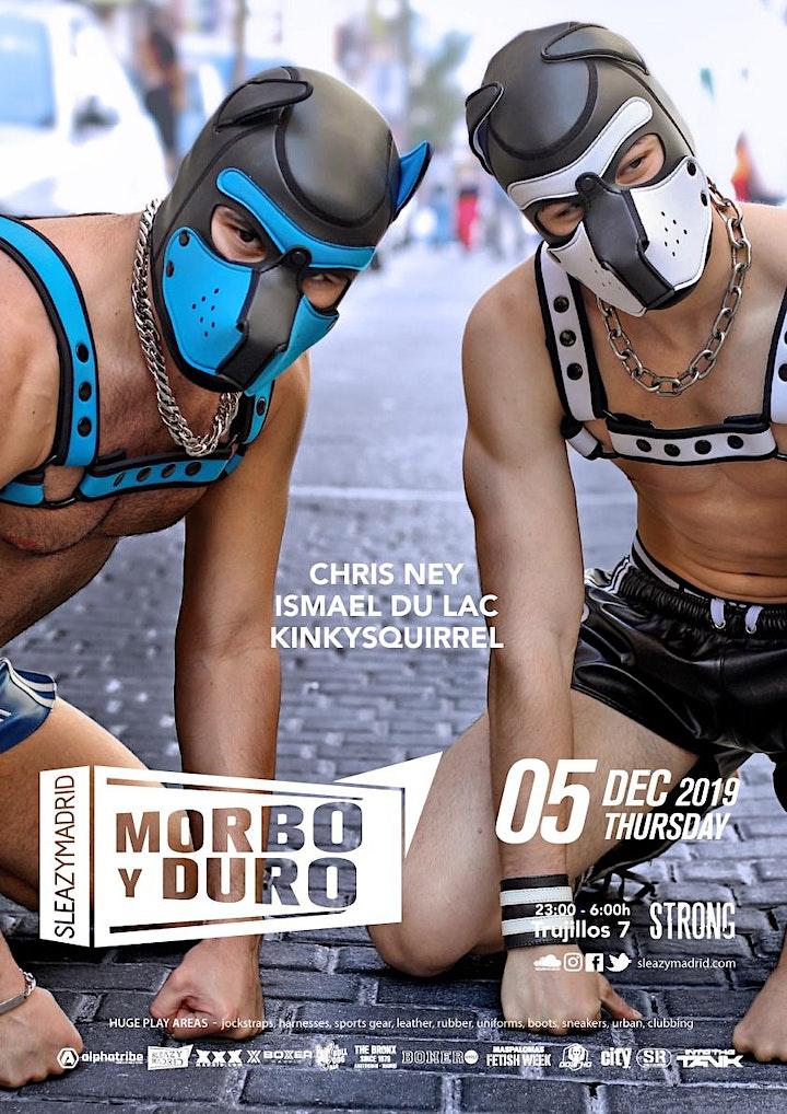 Imagen de MORBO y DURO (SleazyMadrid Winter 2019)